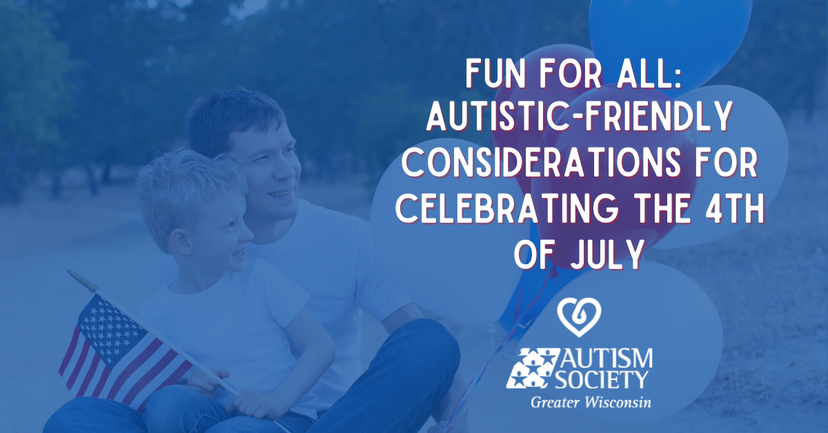 autistic friendly 4th of july